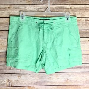 Banana Republic Green Linen Shorts